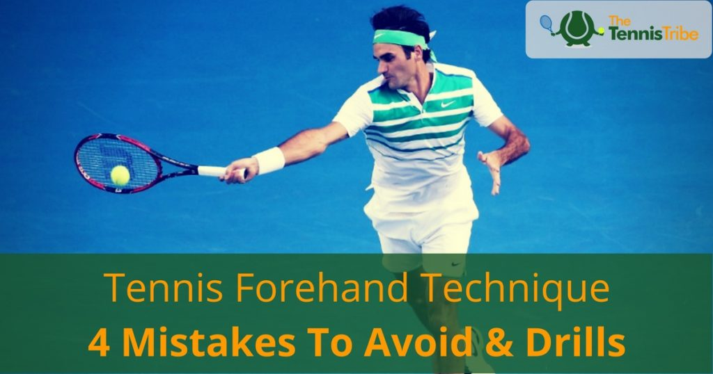 Tennis forehand technique and drills