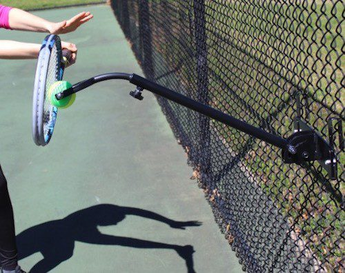 Topspin Solution tennis training aid