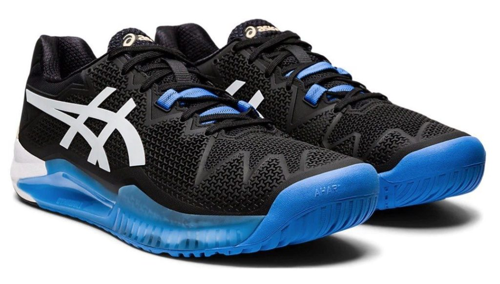 Asics Gel Resolution 8 shoes for tennis