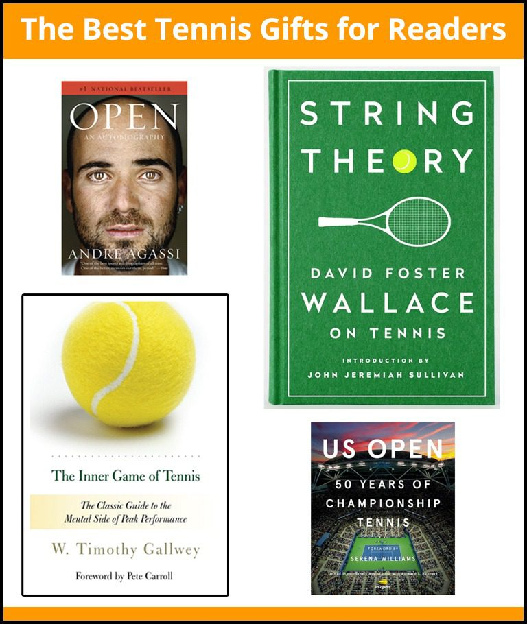 The Best Tennis Gifts for Readers